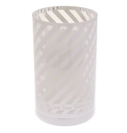 Riverdale Sfeerlicht Stripes white 20cm AB