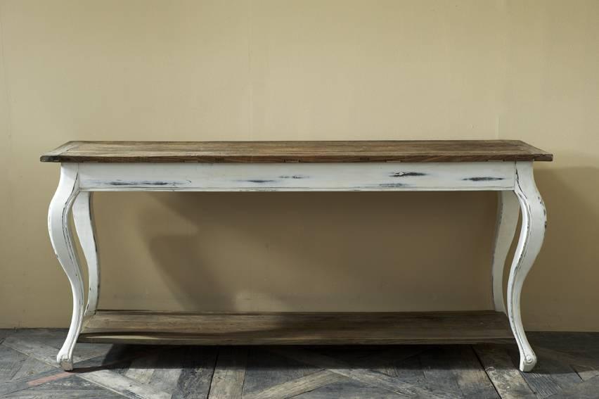 riviera maison driftwood side table jardinerie. Black Bedroom Furniture Sets. Home Design Ideas