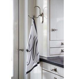 Riviera Maison RM Tea Towel Classic white