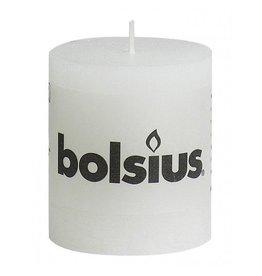 Bolsius Bolsius stompkaars rustiek 80x70mm wit