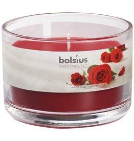 Bolsius Bolsius geurkaars in glas 63mm rose