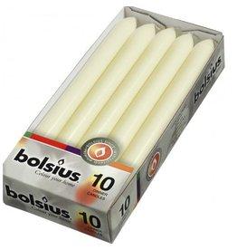 Bolsius Bolsius dinerkaars 230x20mm ivoor 10st
