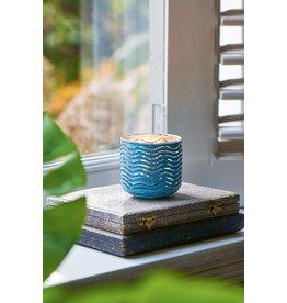 Riviera Maison Sylt Weave Votive light blue