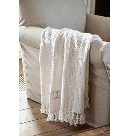Riviera Maison Fabuleux Throw white 180x130