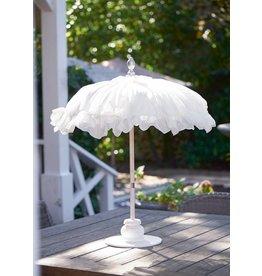Riviera Maison Bahia Beach Table Umbrella white