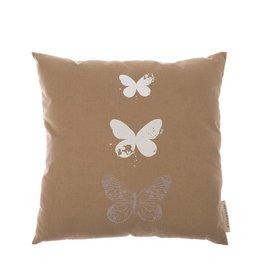 Riverdale Kussen Butterfly 45X45Cm Beige