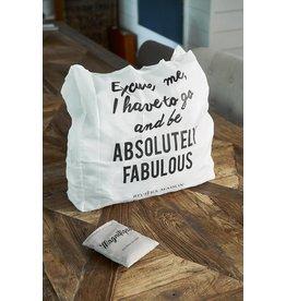 Riviera Maison Absolutely Fabulous Foldable Bag