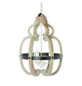 Riverdale Hanglamp Riom naturel 68cm