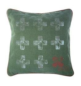 Riverdale Kussen Army groen 45x45cm