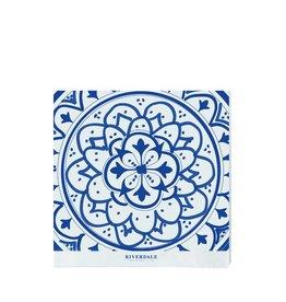 Riverdale Servet Mandala blauw 33cm