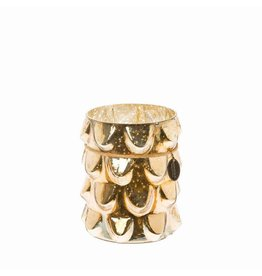 Riverdale Windlicht Antique goud 16cm AB