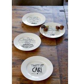 Riviera Maison Nicolicious Cake Plates 4 pcs