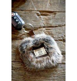 Riviera Maison Fabulous Faux Fur Keychain