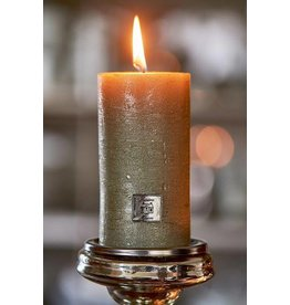 Riviera Maison Rustic Candle pine green 7x13