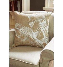 Riviera Maison Pure Banana Leaf Pillow Cover 60x60 (zonder vulling)