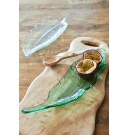 Riviera Maison Luscious Leaf Plate green