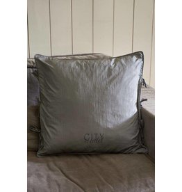 Riviera Maison City Hotel Pillow Cover grey 60x60 (zonder vulling)