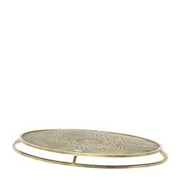 Riverdale Kaarsenplateau Boston goud 51cm