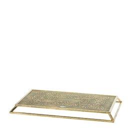 Riverdale Kaarsenplateau Boston goud 47cm