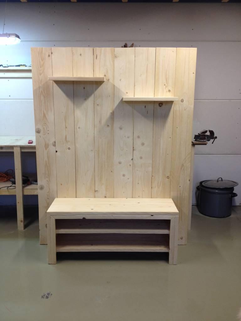 Tv meubel van steigerhout maatwerk steigerhout for Steigerhout tv meubel maken