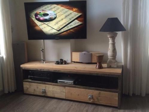 Steigerhout Tv Kast : Tv meubel maatwerk steigerhout