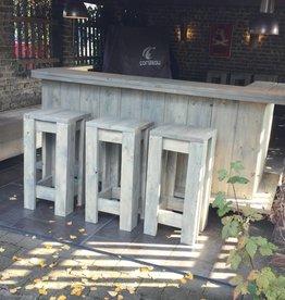 Verrijdbare Bar/ Balie met Barkrukken