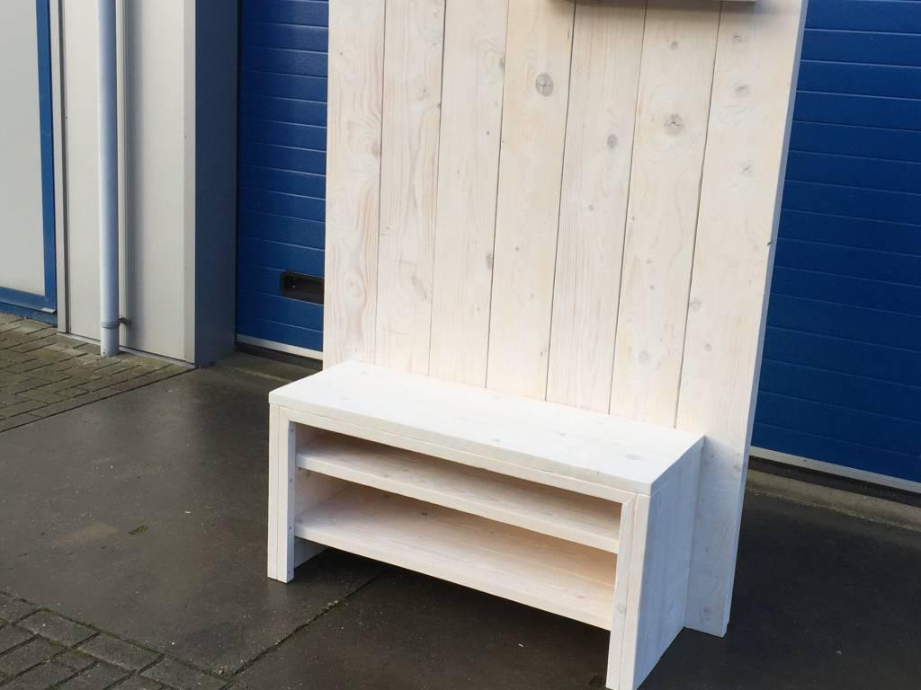 Tv meubels maatwerk steigerhout for Steigerhout wandmeubel