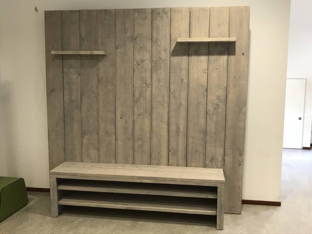 Tv meubels maatwerk steigerhout for Steigerhout tv meubel