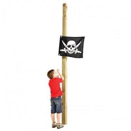 KBT Drapeau avec système d'hisse Pirate