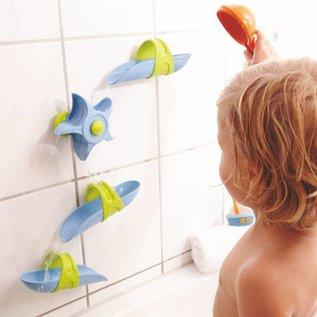 Haba Toboggan à billes pour baignoire