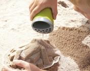 Jouer avec le sable, pâte et l'eau