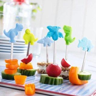 Haba Brochettes-snacks pour enfants Parade des dinosaures