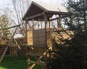 Structures de jeux en bois