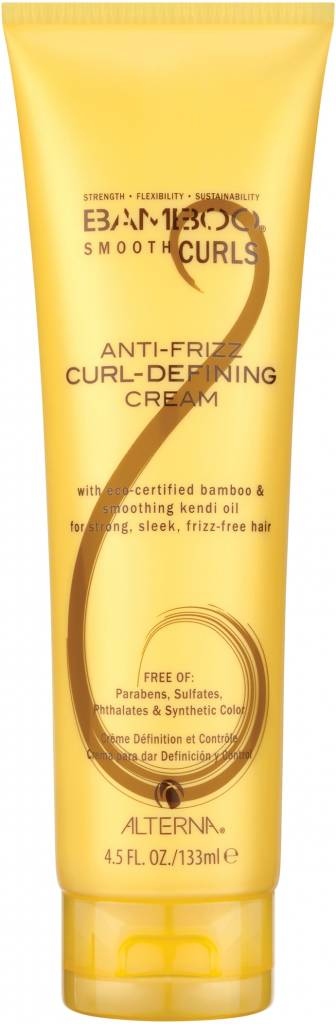 Alterna Alterna Bamboo Smooth Curls Anti-Frizz Curl Defining Cream 133ml