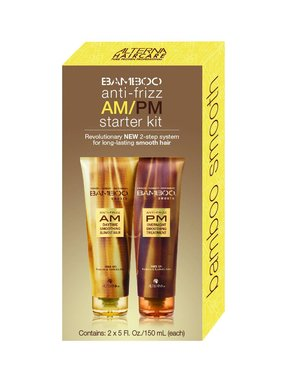 Alterna Alterna Bamboo Smooth Anti-Frizz AM/PM Starter Kit (2x150ml)