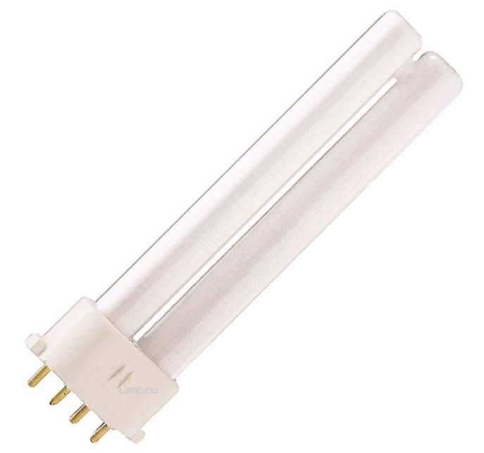Master pl s 9w 830 4p lamp belgie for Lampen 0 36w 6v