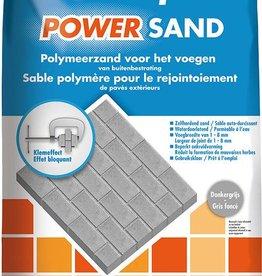 Knauf Powersand donkergrijs 25kg