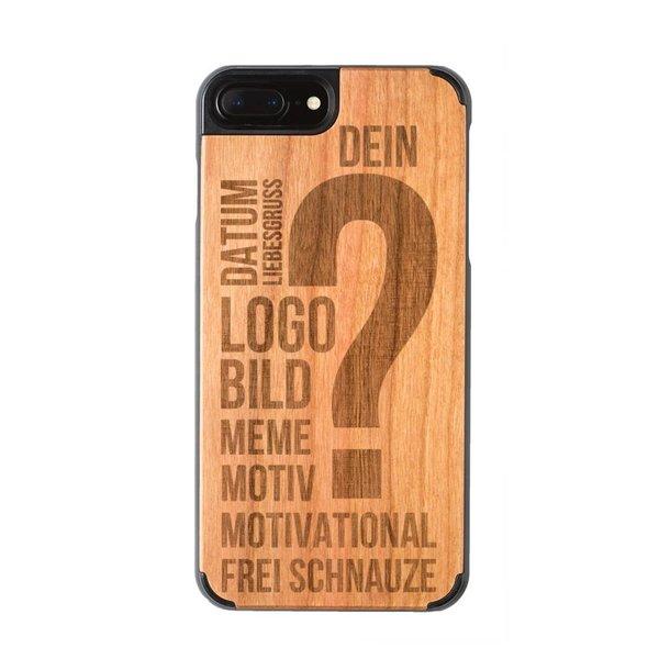 Individuelle Holzhülle iPhone 7 Plus