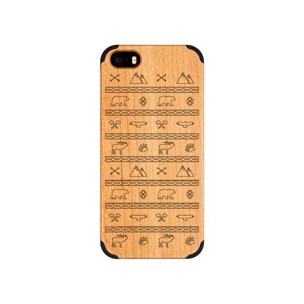 iPhone 5 - Berge und Bär