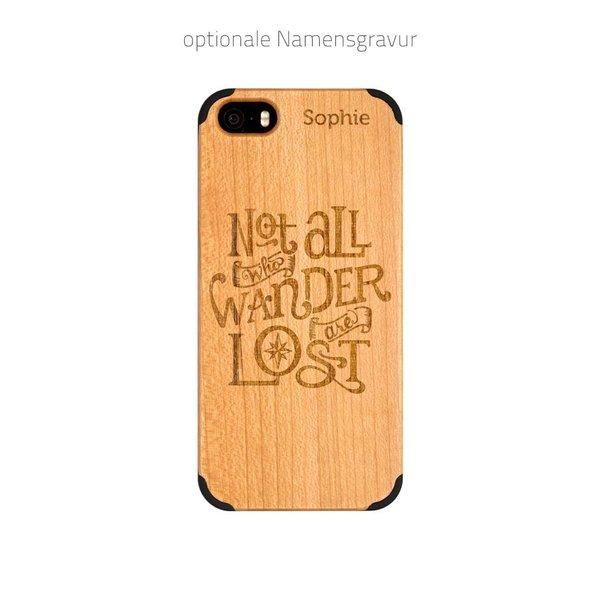 iPhone 5 - Not all who wander are lost