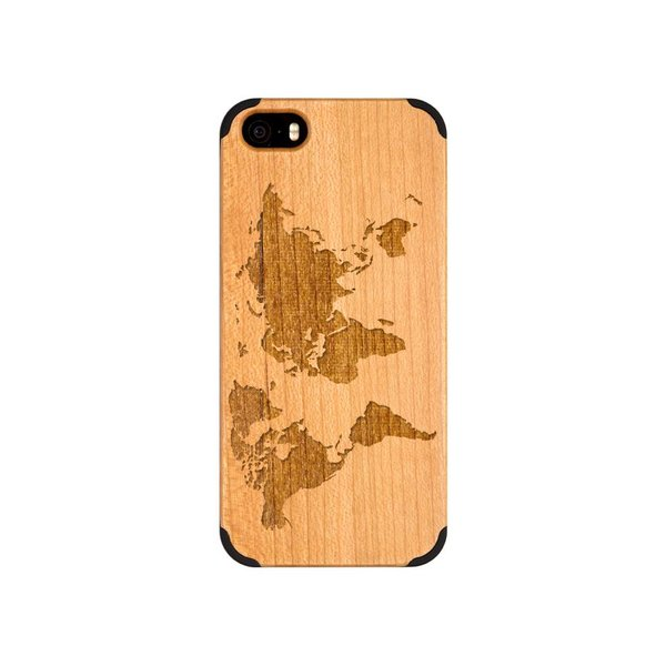 iPhone 5 - Worldmap