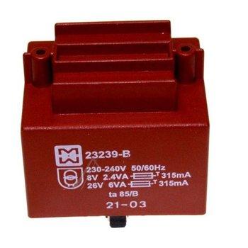 ms0295834 voedingstransfo krups 220volt 22 volt
