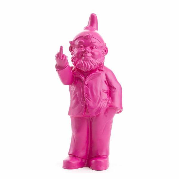 """Sponti"" Fuck You Gnome in Pink"
