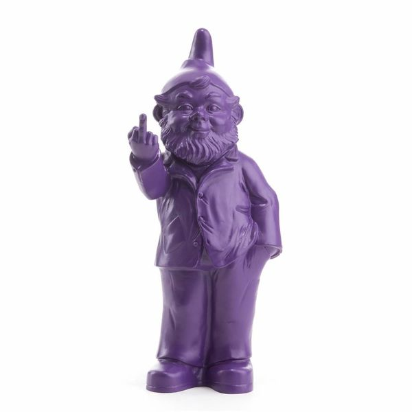 """""""Sponti"""" Fuck You Gnome in Purple"""