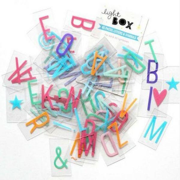 LIGHTBOX 85-Pack Pastel | H = 6,5 Cm