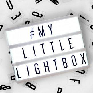 LOCOMOCEAN LIGHTBOX A5 | Zwart - Micro USB