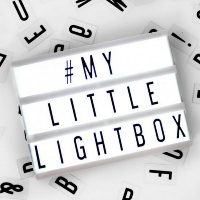 LOCOMOCEAN LIGHTBOX A5 | Black - Micro USB
