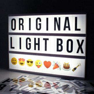LOCOMOCEAN LIGHTBOX A4 | Noir - Micro USB