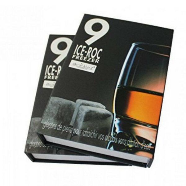 Whisky Stones - Set von 9 Stück in Marmor