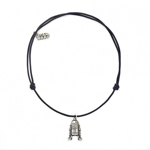 STAR WARS Necklace R2D2 Leather